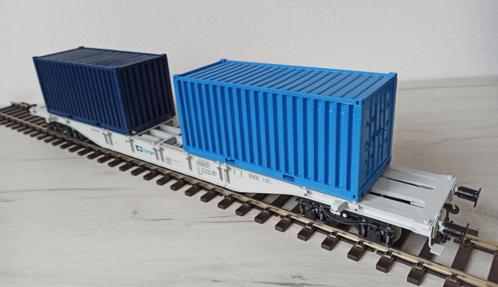 "SGNSS 60"" Container car"