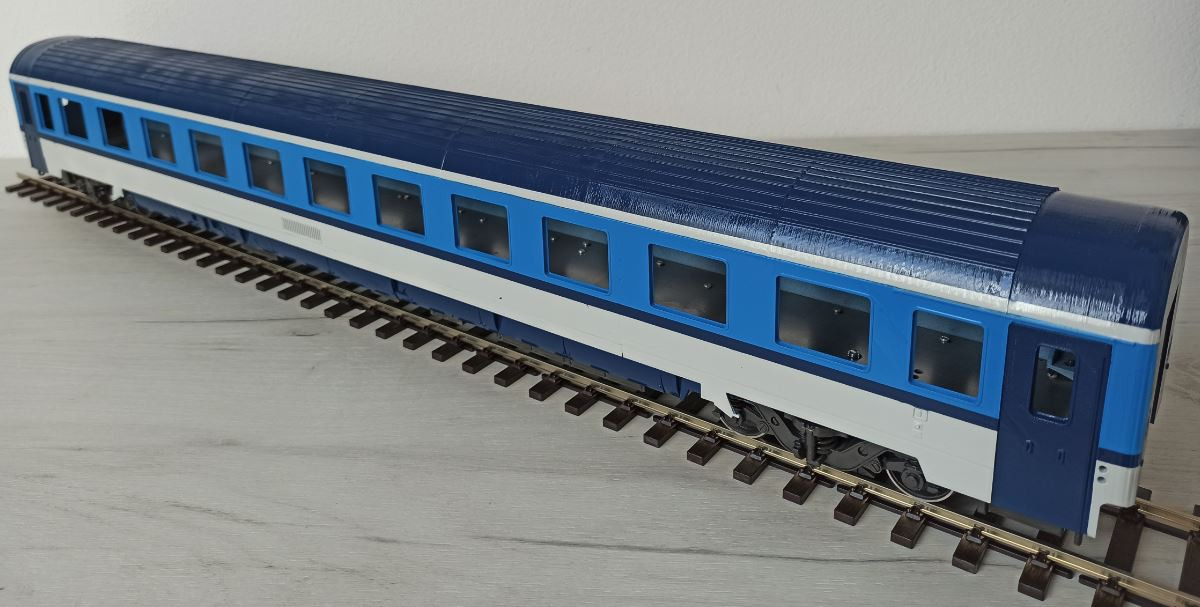 EUROFIMA 2nd Class Passenger Car available now
