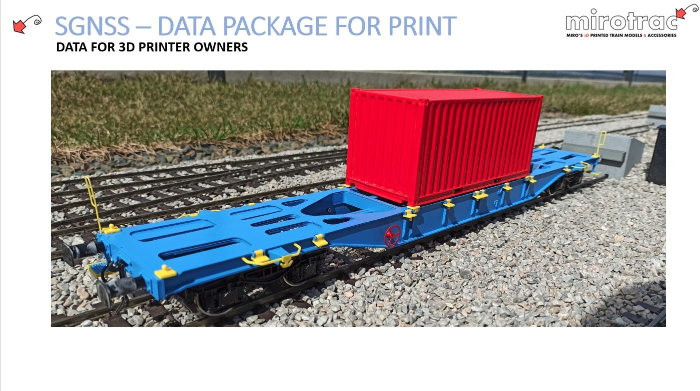 """SGNSS 60"""" Container car"""